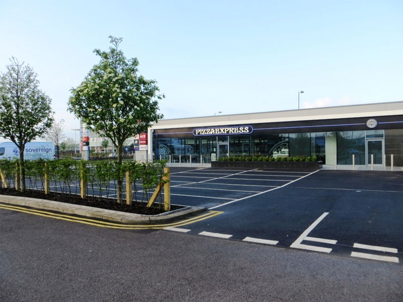 Newport Retail Park, South Wales