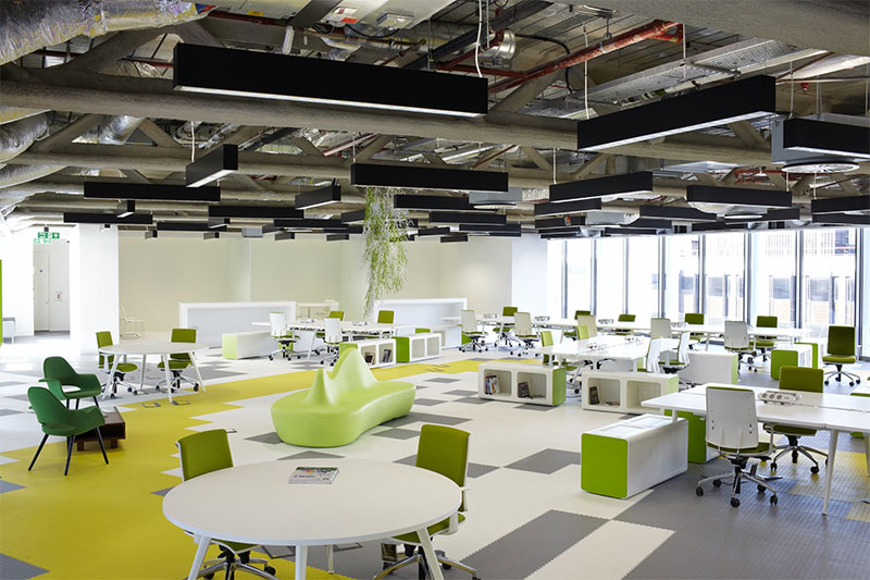Open Floor Plan Office Furniture: Open Plan Office Design: Winner Or Loser?