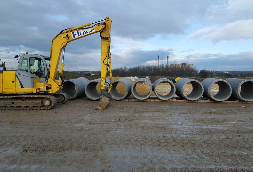 culvert sections trinity farm knottingley